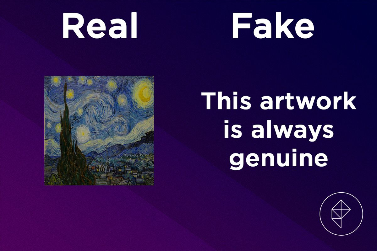 Confirmation that the Twinkling Painting is always real