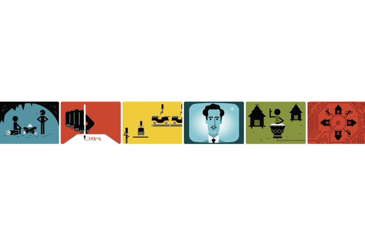 Today's Google Doodle is about the Man who Predicted the Internet