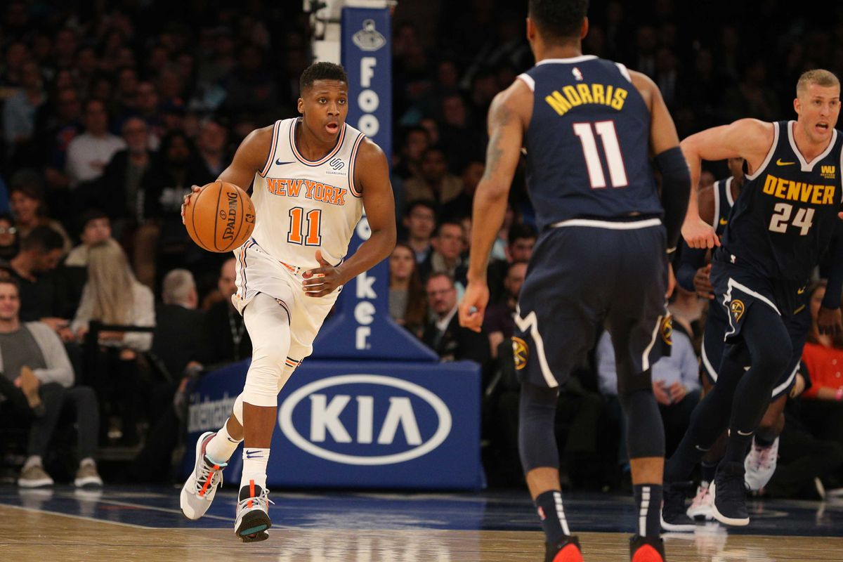 REPORT: Knicks will look to deal Frank Ntilikina for draft pick