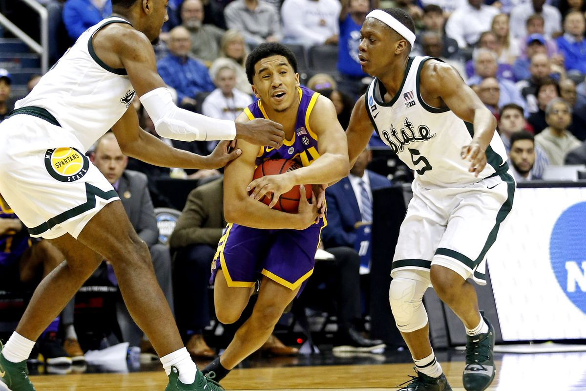 NCAA Basketball: NCAA Tournament-East Regional-LSU vs Michigan State