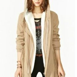 """<a href=""""http://www.nastygal.com/clothes-outerwear/brooklyn-anorak"""">Brooklyn Anorak</a> at Nasty Gal, $88"""