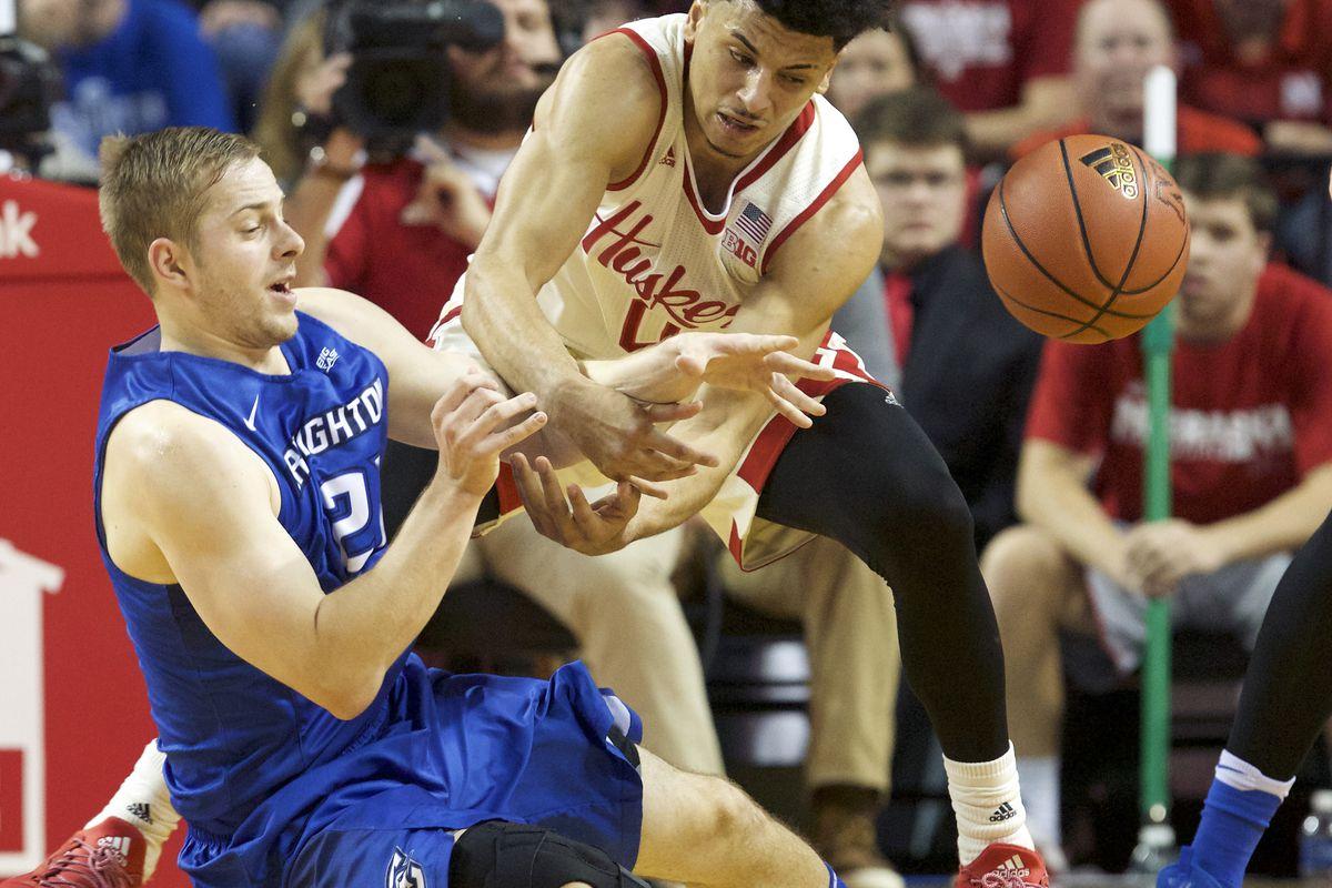NCAA Basketball: Creighton at Nebraska