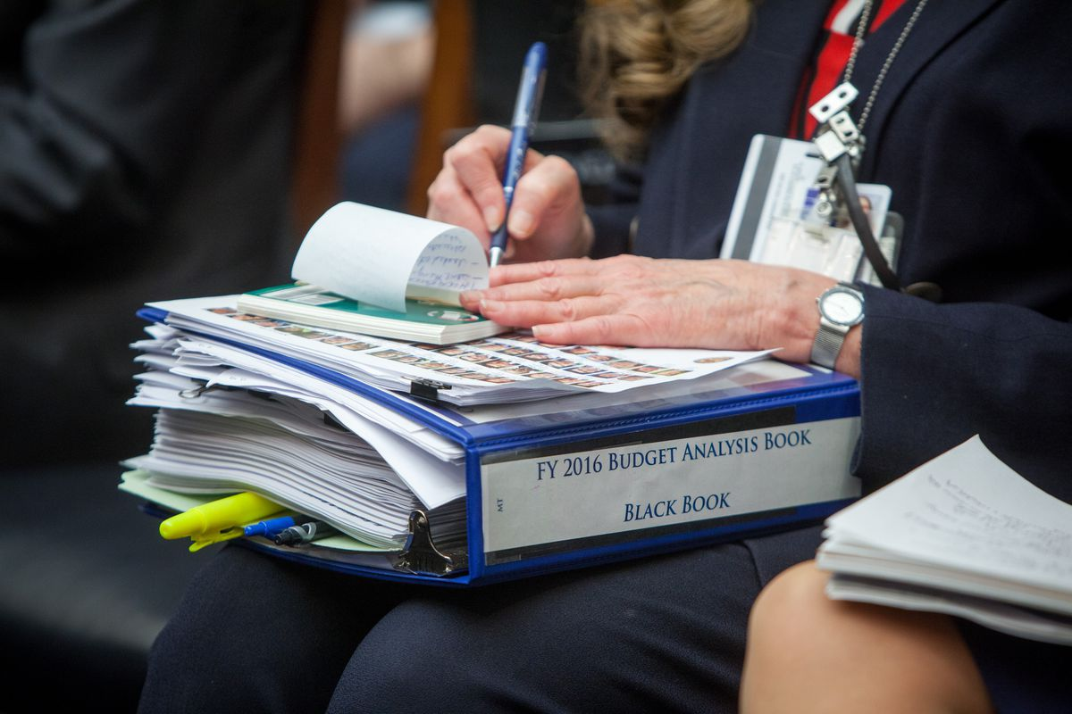 The little black book of FY 2016 budget analysis.