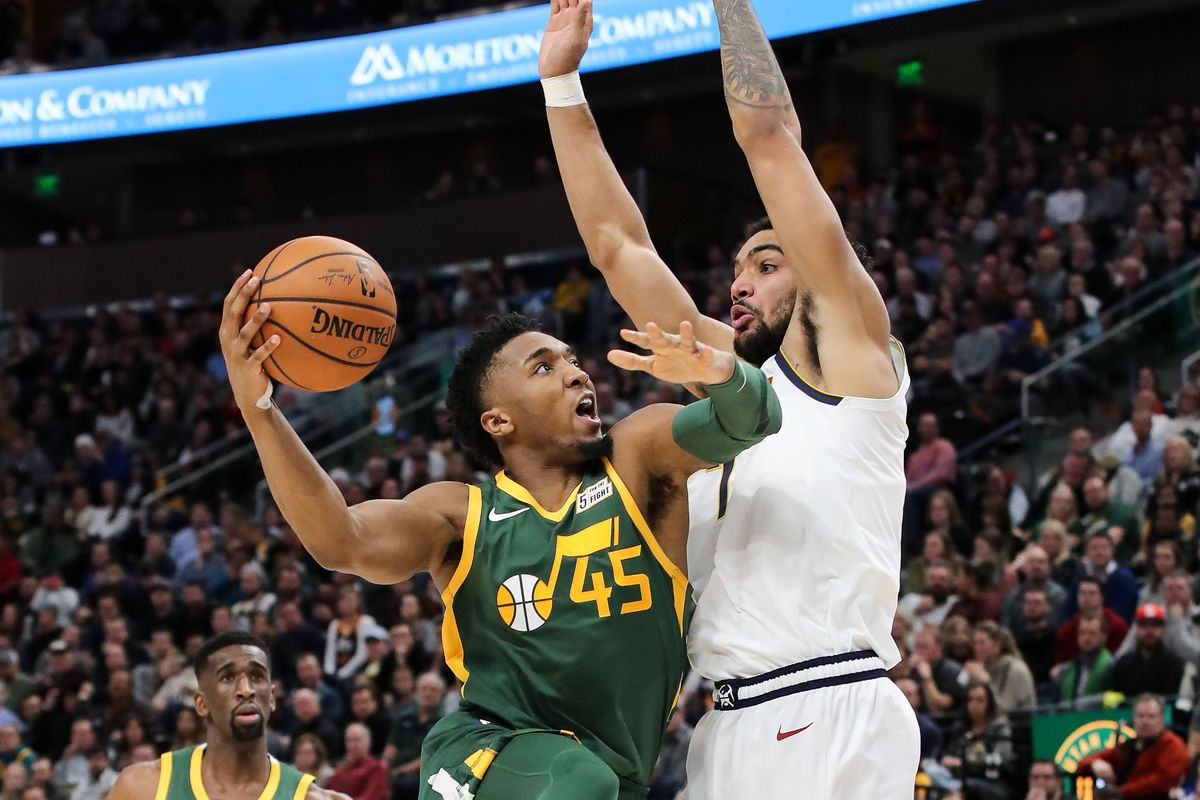 Was Donovan Mitchell s early sophomore slump the result of an injured toe  12b4f7fe4