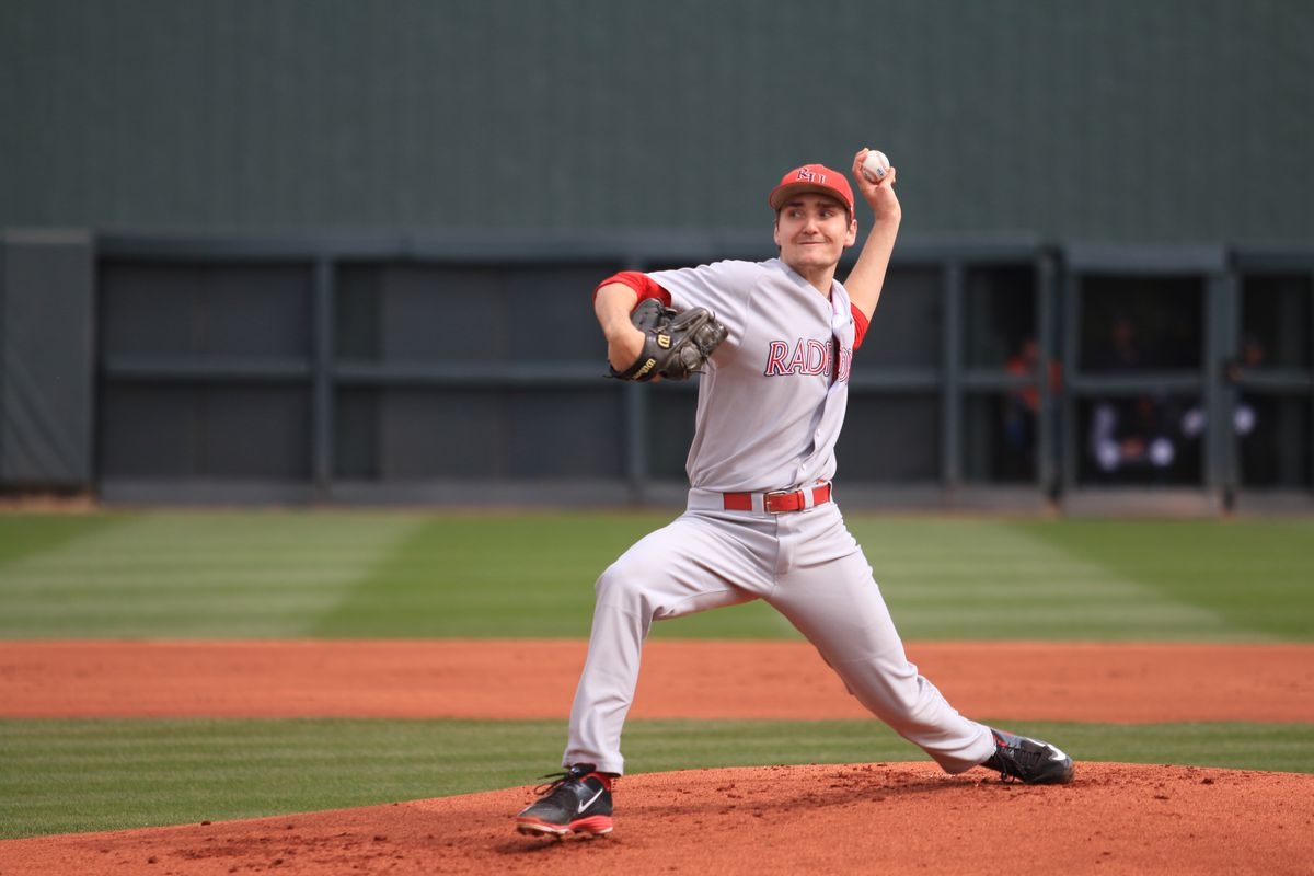 Michael Boyle was rated the No. 132 prospect by Baseball America, but drafted No. 402 overall by the Dodgers.