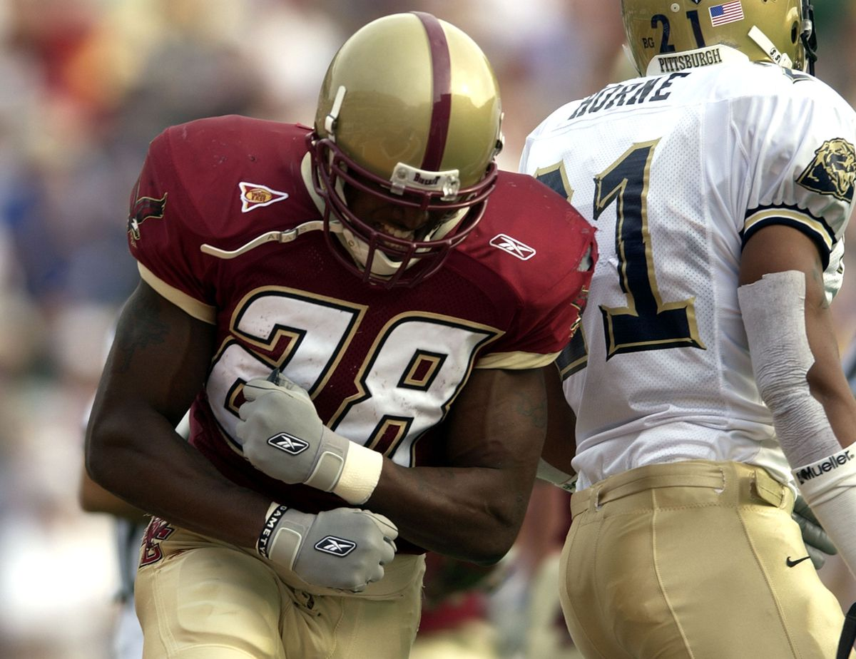 Pittsburgh Panthers vs. Boston College Eagles - November 1, 2003