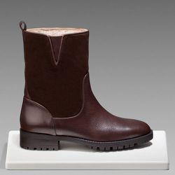 "<b>Massimo Dutti</b> Combined Leather Boot, <a href=""http://www.massimodutti.com/webapp/wcs/stores/servlet/product/duttius/en/30109527/792006/2816004/COMBINED%2BLEATHER%2BBOOT "">$245</a>"