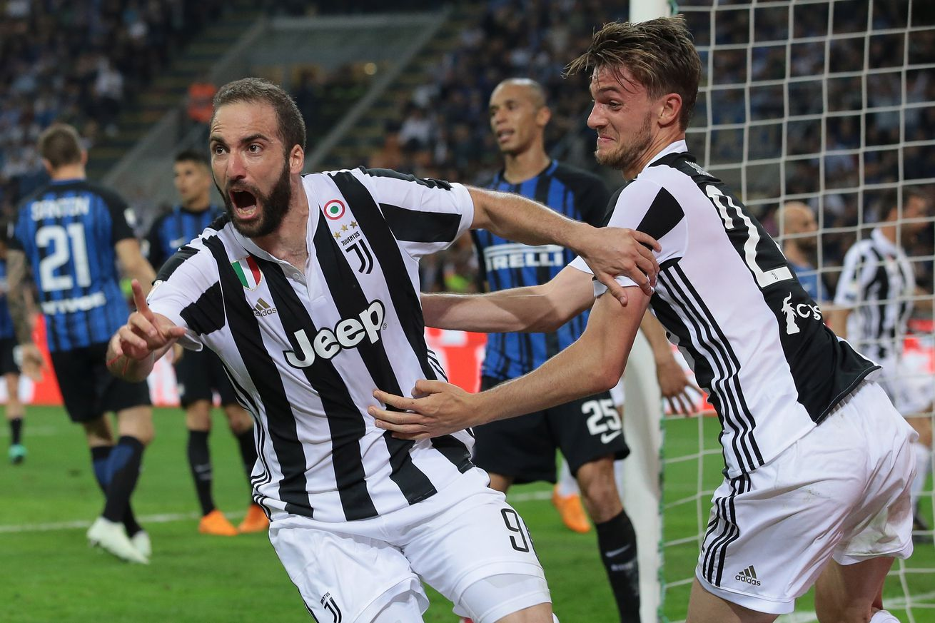 Report: Juventus reject Chelsea?s ?90 million bid for Daniele Rugani, Gonzalo Higuain