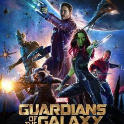 'Guardians of the Galaxy' poster.