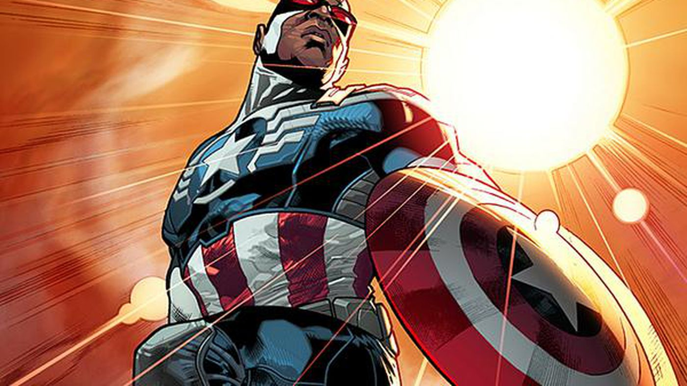 Marvel is replacing Steve Rogers with the new, black Captain