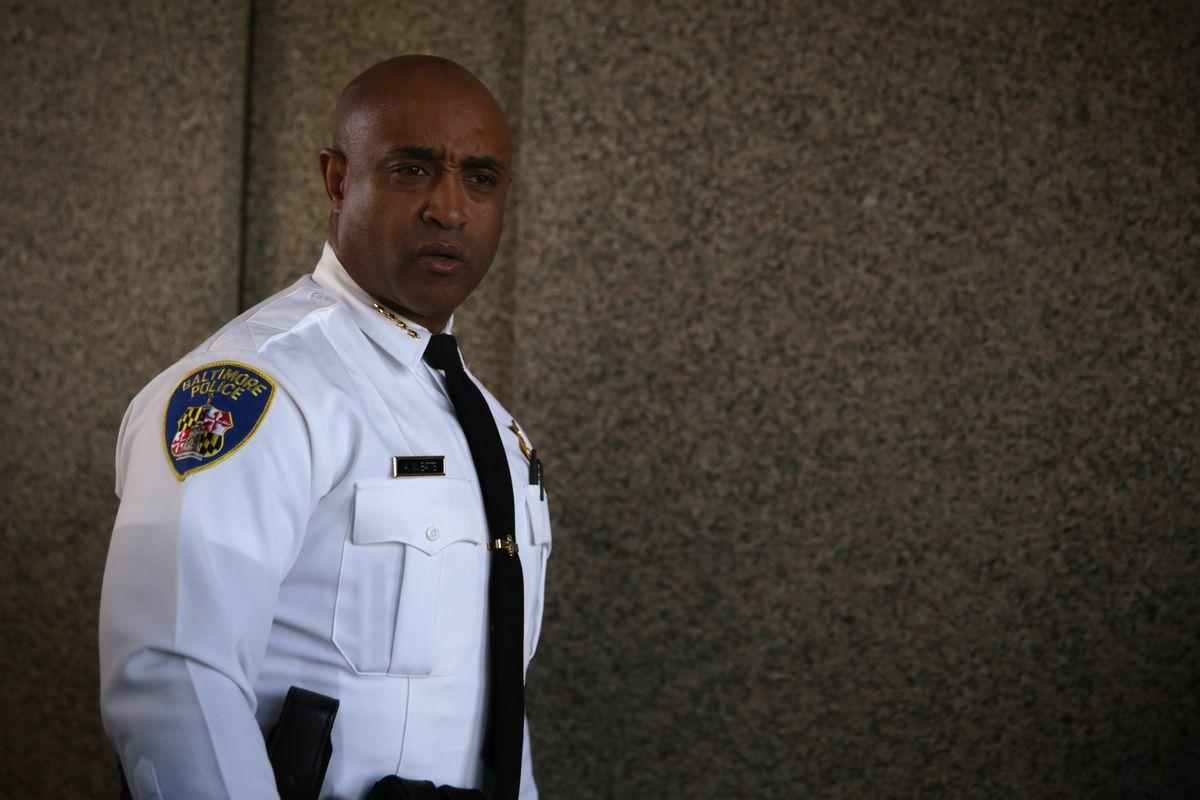 Baltimore Police Commissioner Anthony Batts.