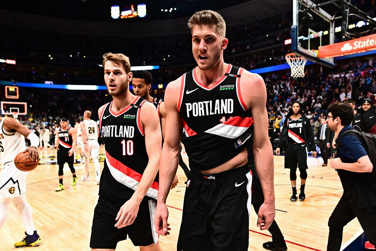 hot sale online e1591 43148 Portland Trail Blazers Questions from the 2019 NBA Playoffs ...