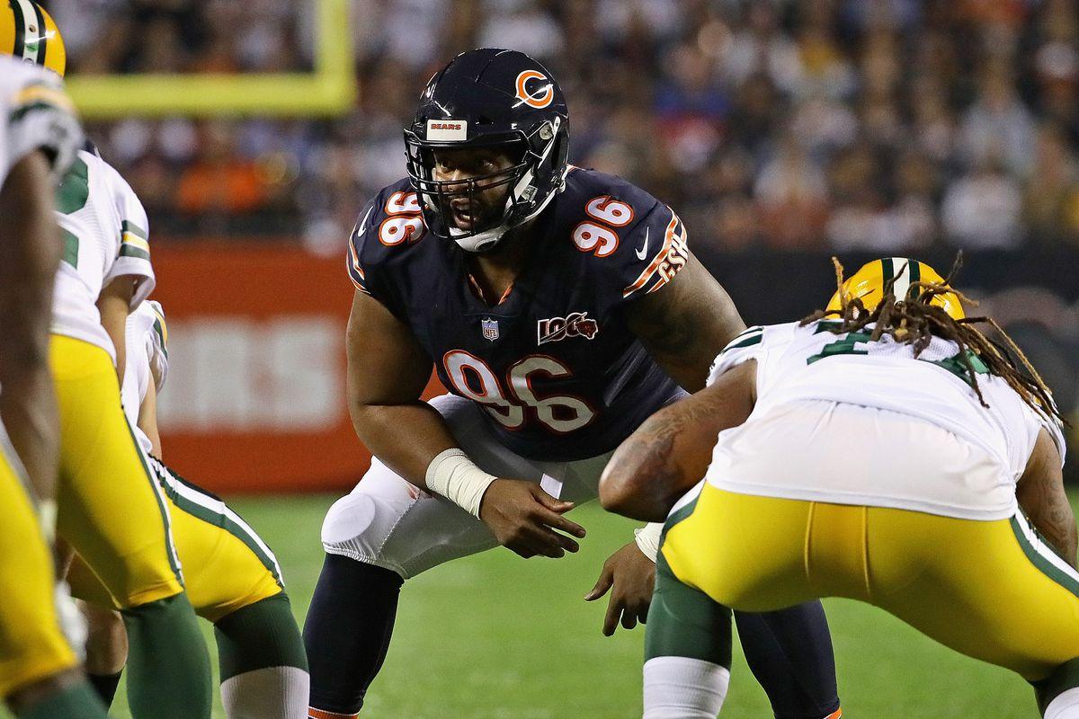 Matt Nagy: Bears hope Akiem Hicks can return from elbow injury this year