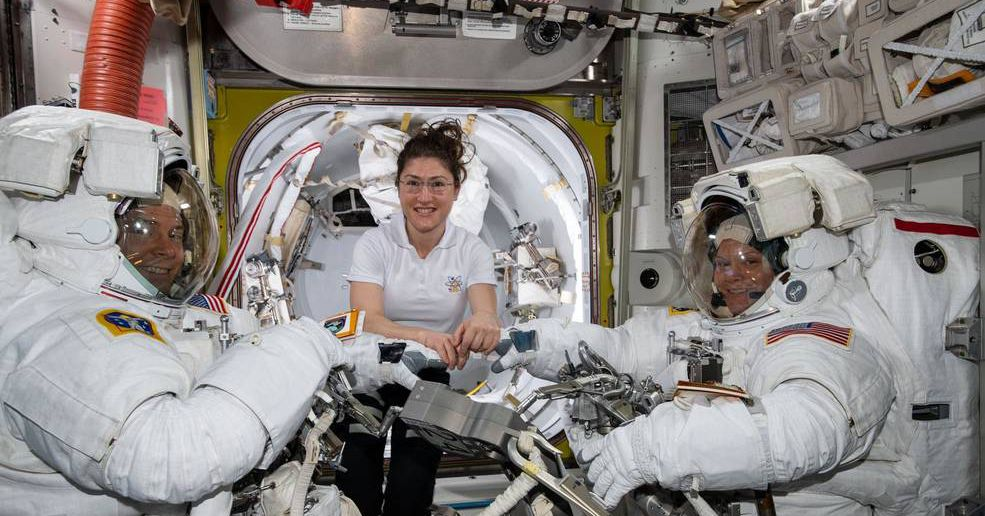 NASA is no longer planning to conduct its first all-women spacewalk this week - The Verge