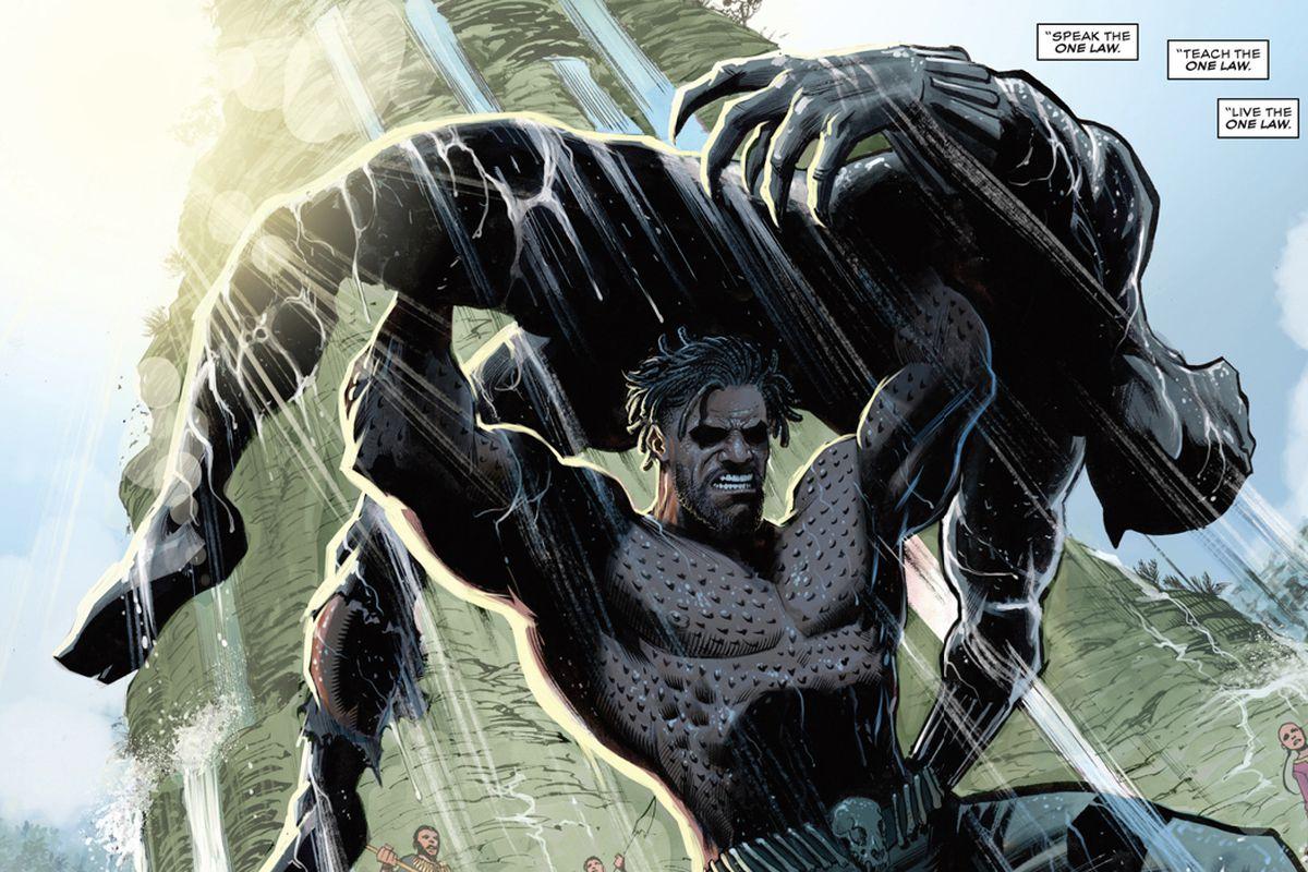 From Killmonger #1, Marvel Comics (2018).