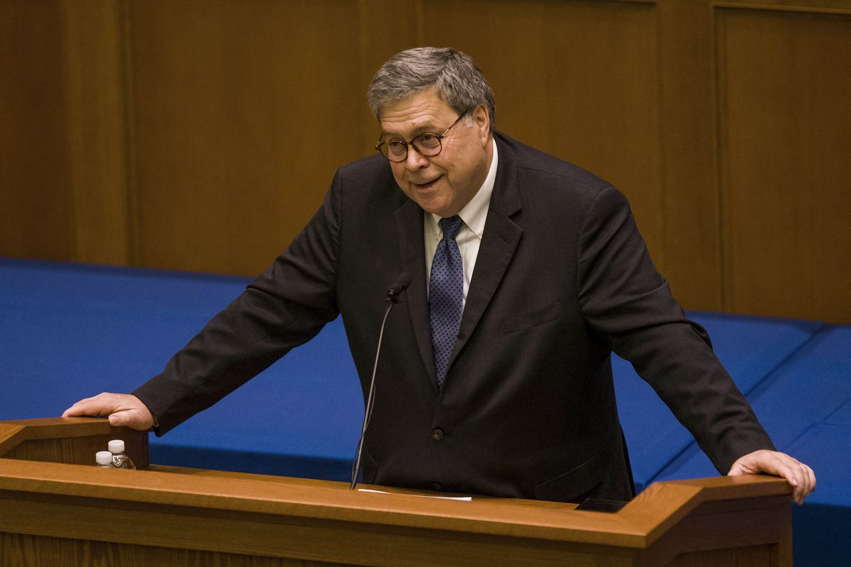 Attorney General Barr is determined to undermine your privacy | Jacob Sullum