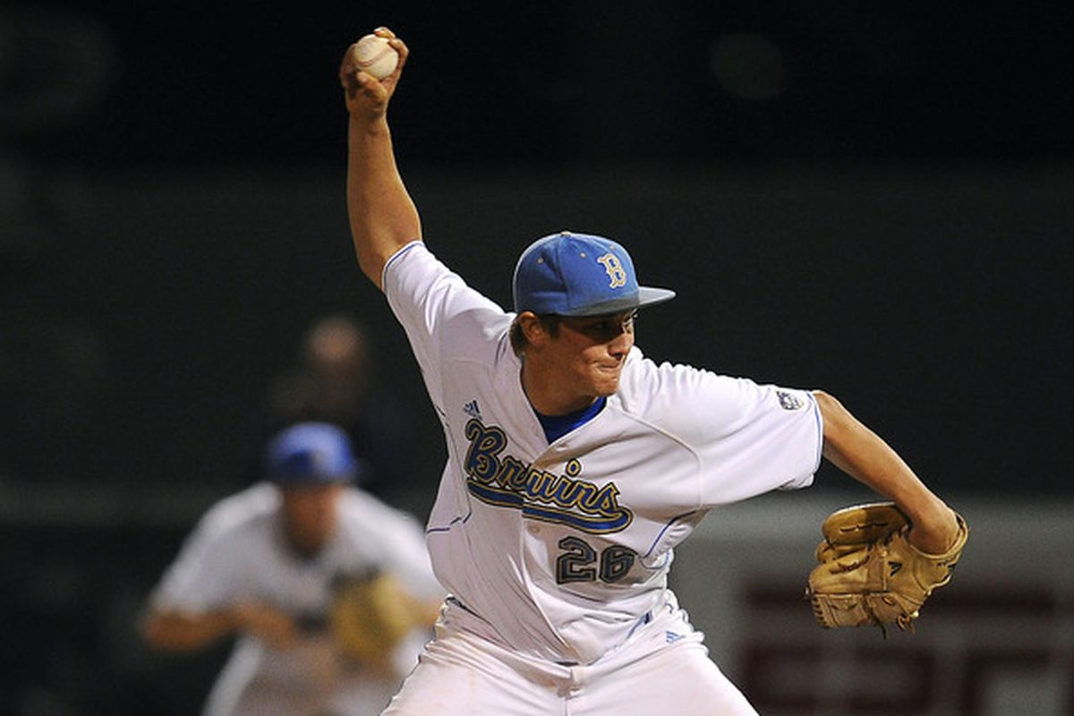 David Berg returns to give much needed relief to the UCLA pen