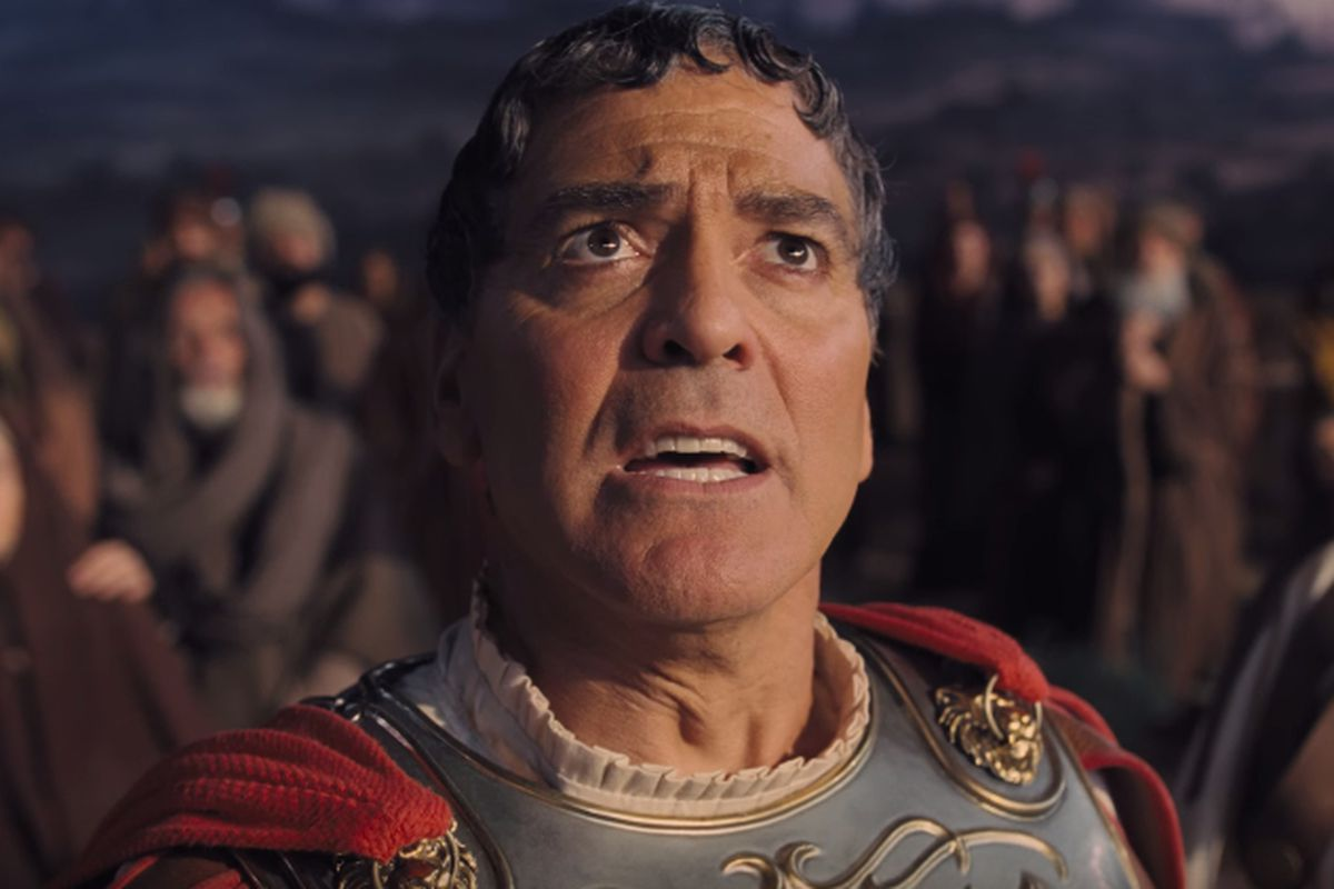 George Clooney in the Coen brothers' latest film, Hail, Caesar!
