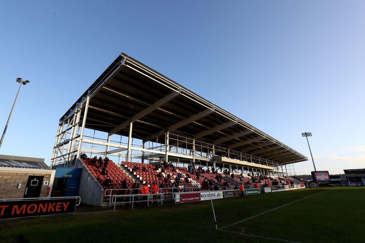 Northampton Town v Lincoln City - Sky Bet League One - PTS Academy Stadium