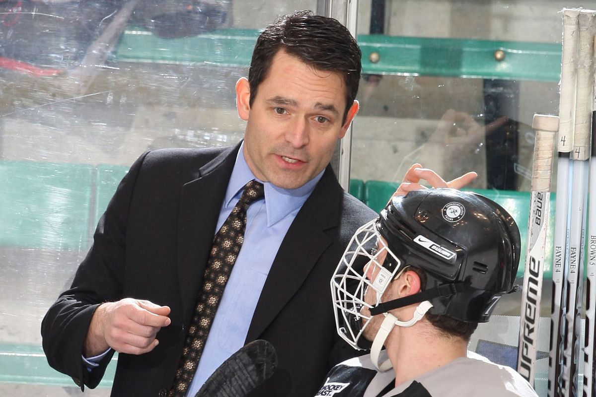 Recently hired Holy Cross head coach Dave Berard, seen her during his days as a Providence assistant.