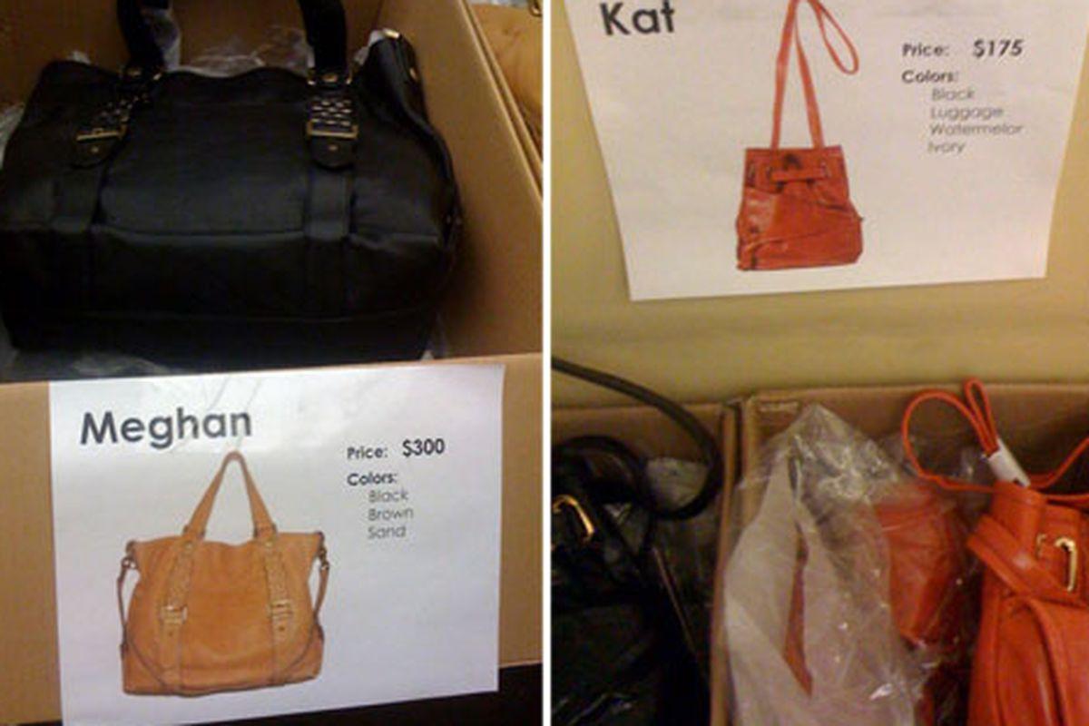 """Images via <a href=""""http://sugarrockcatwalk.blogspot.com/2010/10/ny-sample-sale-report-kooba-handbags.html"""">Sugar Rock Catwalk</a>"""