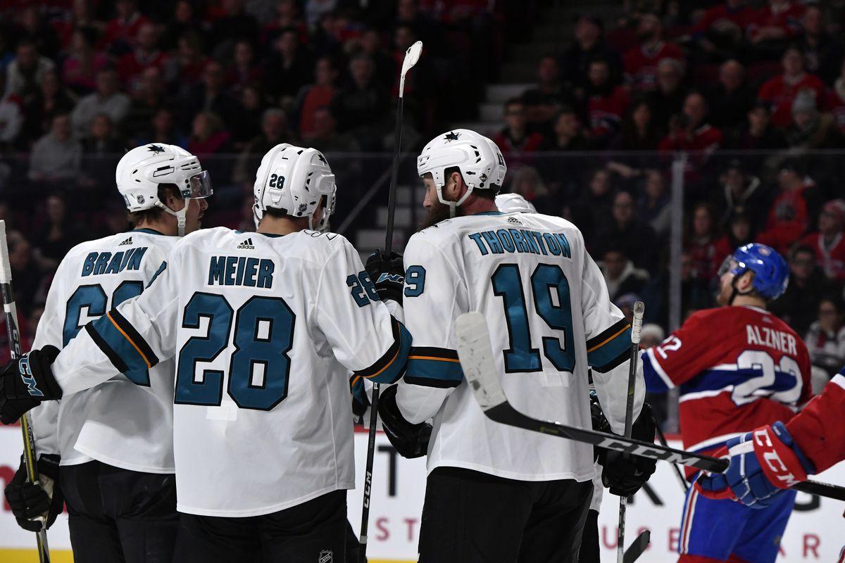 NHL: San Jose Sharks at Montreal Canadiens