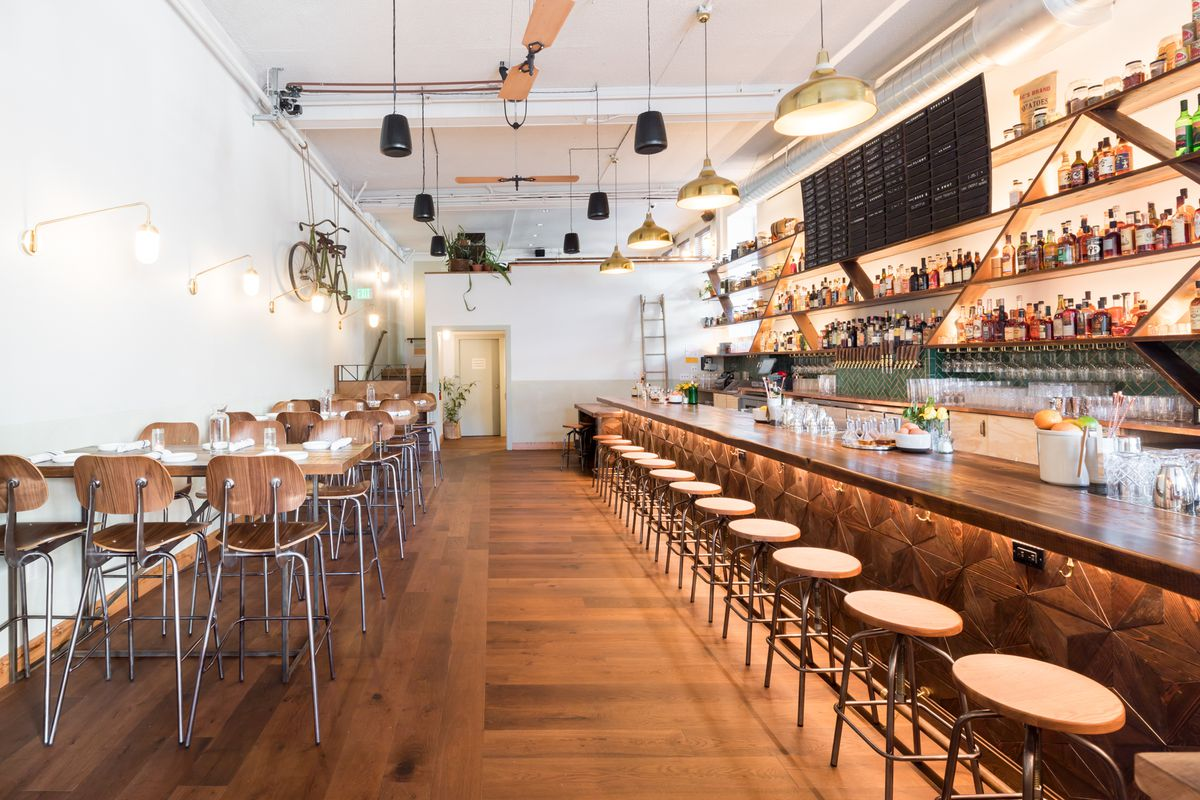 step inside the snug the coziest new bar on fillmore eater sf