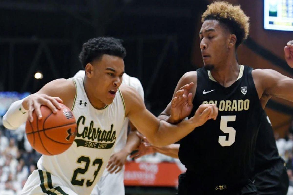 No. 24 Colorado tops Colorado State, 56-48