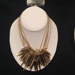 Spiky necklace, $125