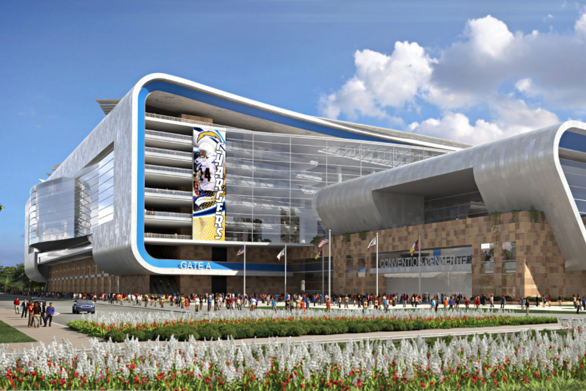 Report San Diego Chargers Downtown Nfl Stadium Plan