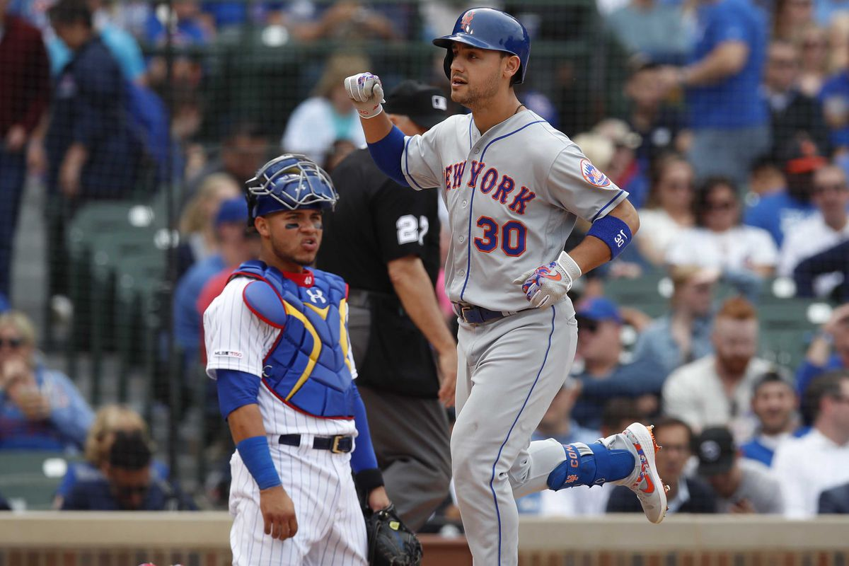 Final Score: Mets 5, Cubs 4 - The Scooter and Squirrel Show in Chicago