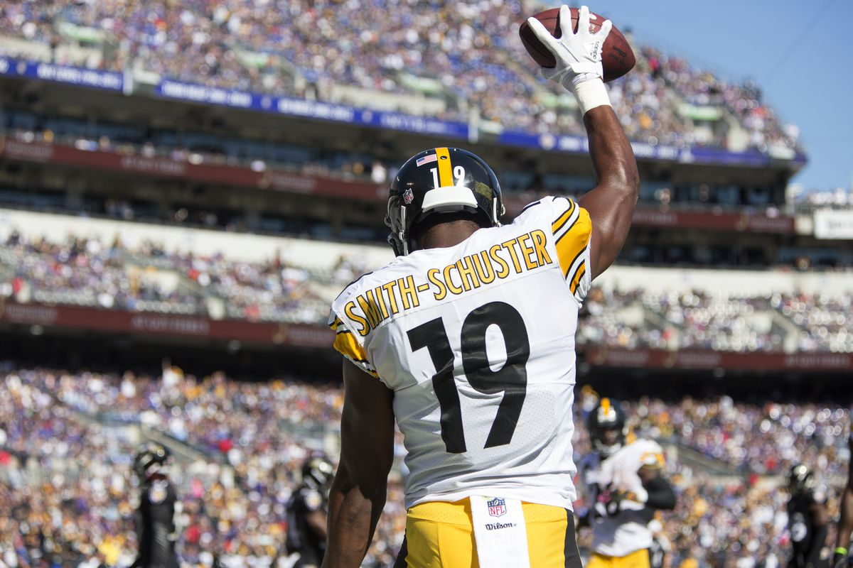 ade022a6e26 Steelers Injury Report  Good news for JuJu