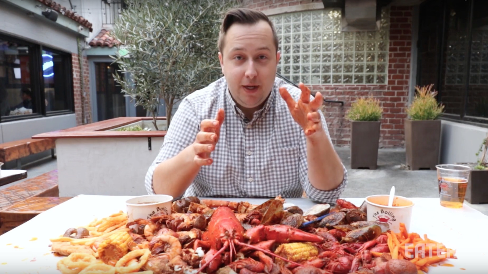 boiling crab menu