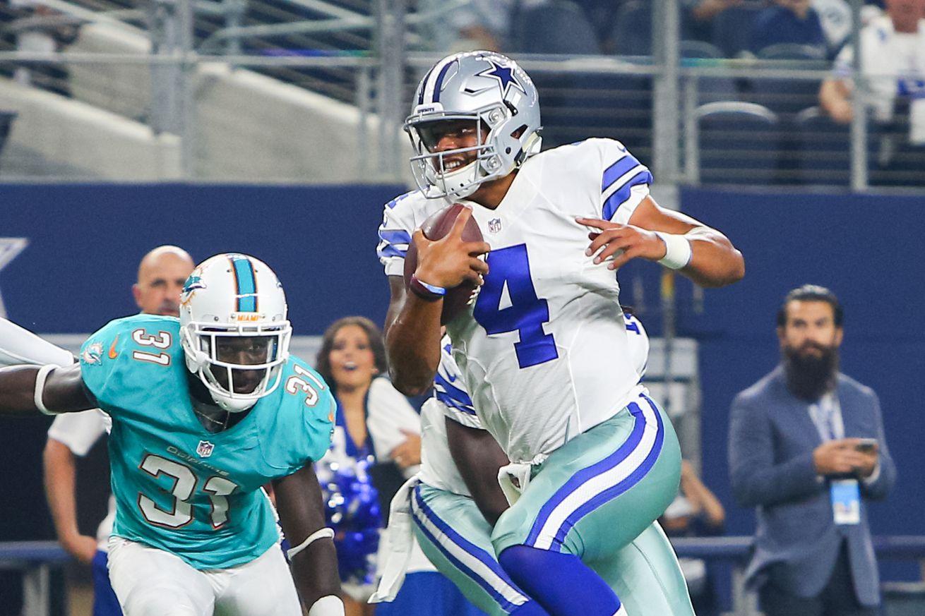 NFL: AUG 19 Preseason - Dolphins at Cowboys
