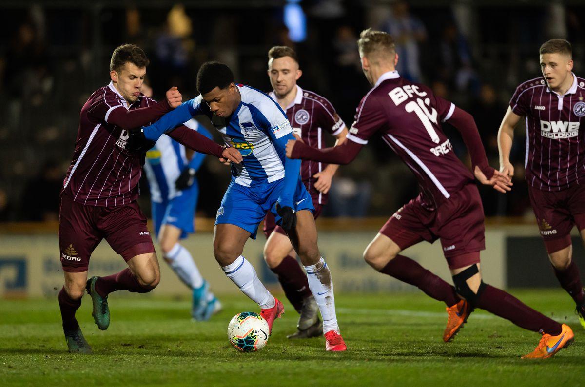 Hertha BSC U23 v BFC Dynamo - Regionalliga Nordost