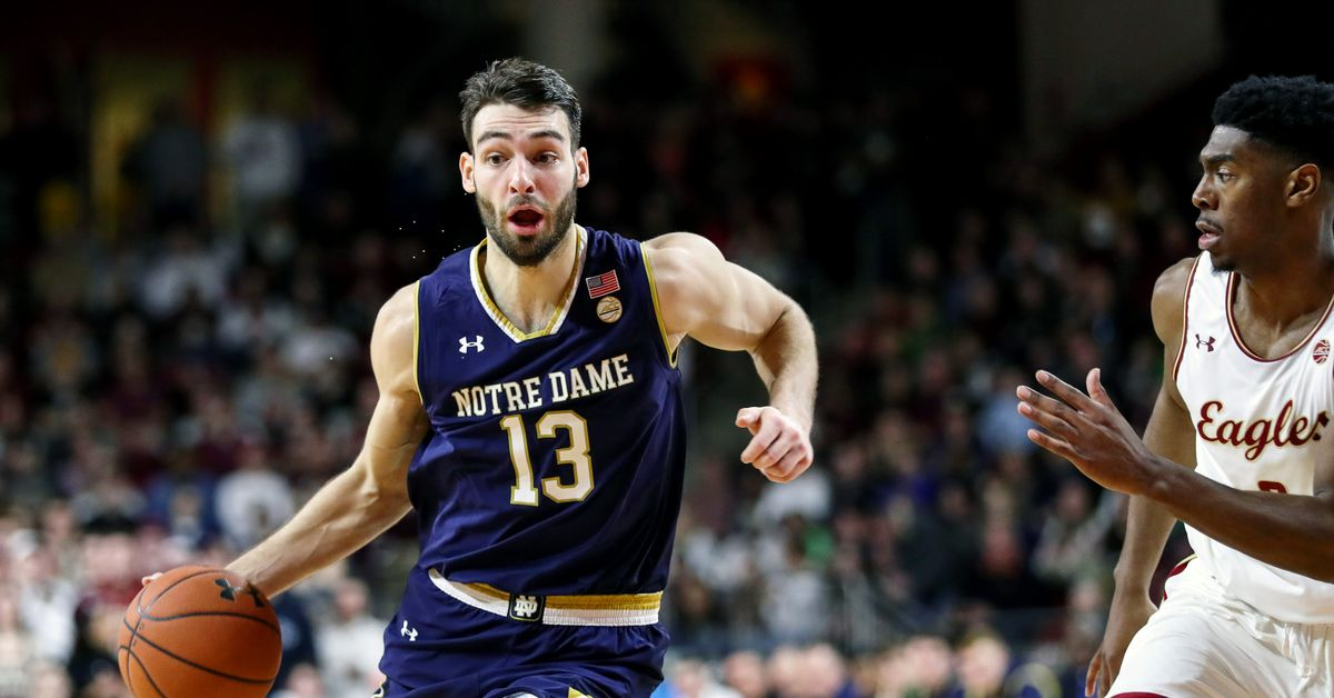 Quick Recap: Notre Dame Basketball Beats Boston College 79 ...