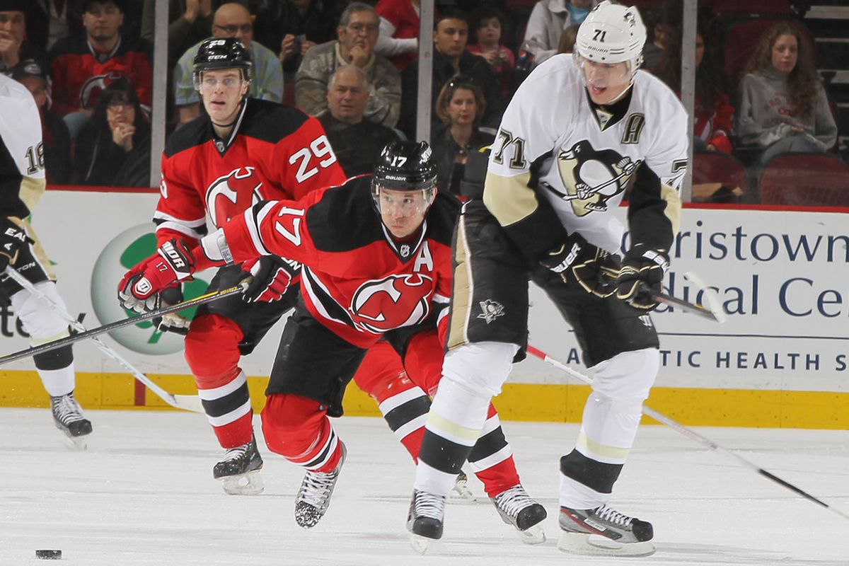 Today's Devils/Penguins game could be a 1st-round playoff matchup in the East.