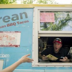 Takorean was one of the food trucks in attendance. Photo: Sweetgreen.