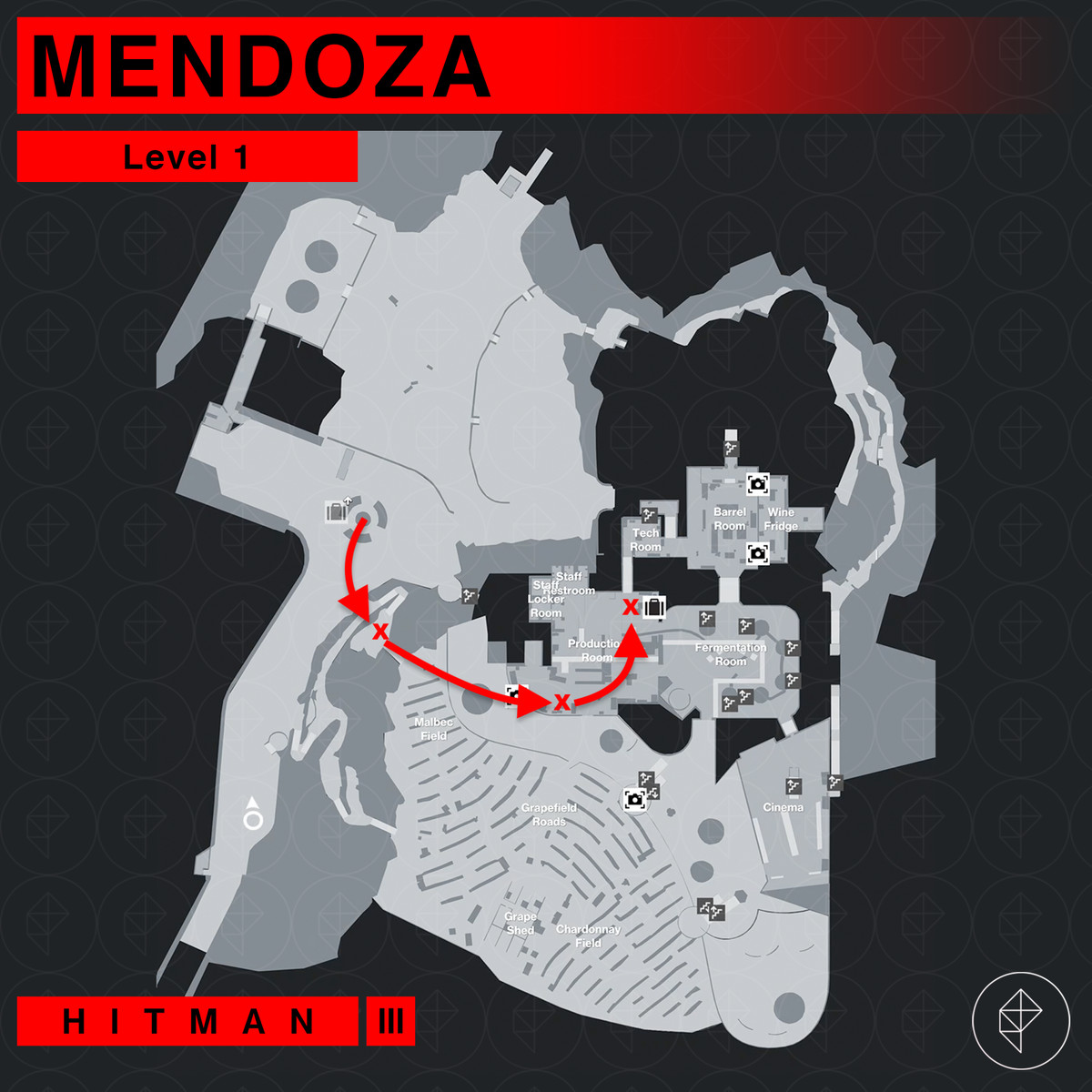 Hitman 3 Mendoza The Farewell Over The Top Mission Story walkthrough