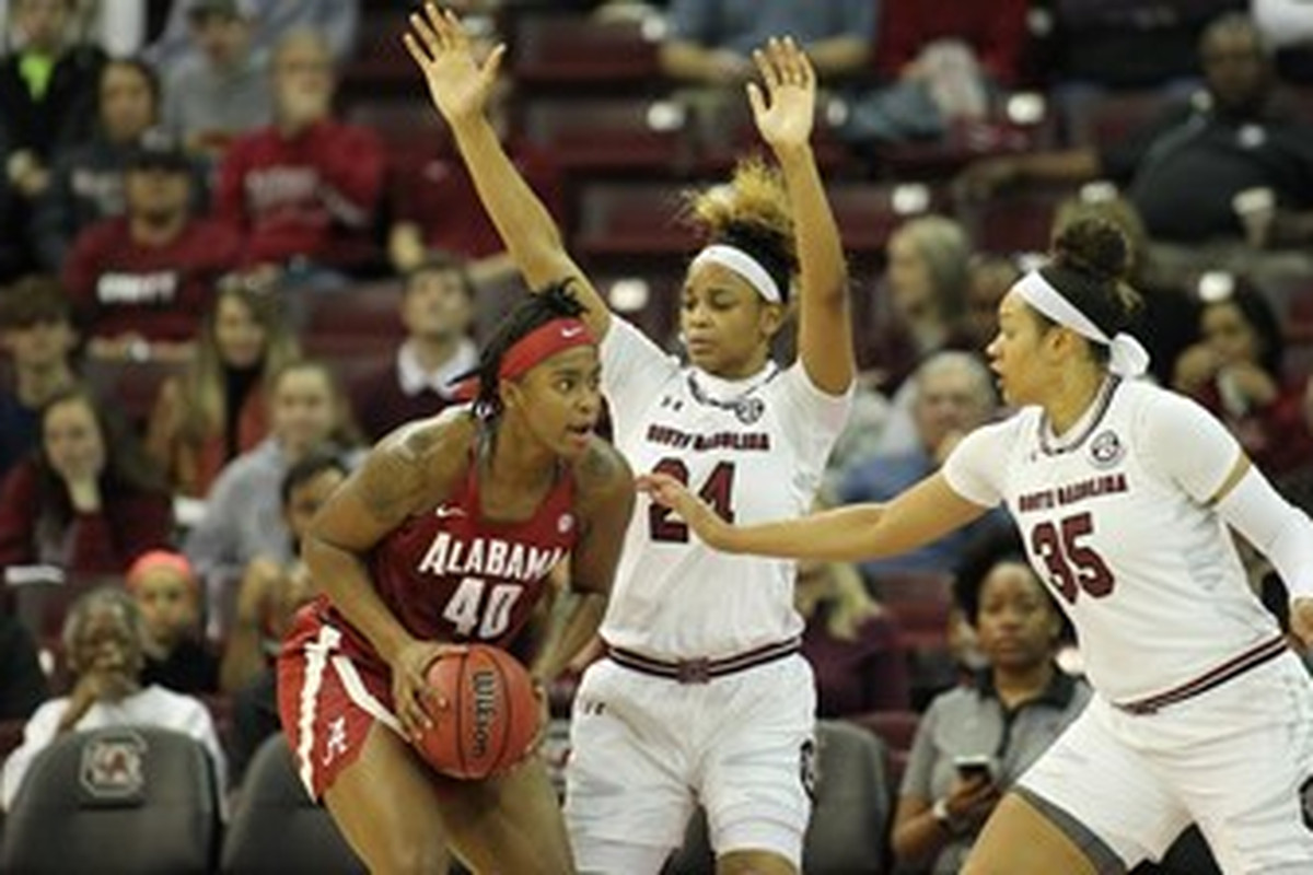 Right Garnet Basketball Attack Gamecock Rings In - Year And New The Black Women's
