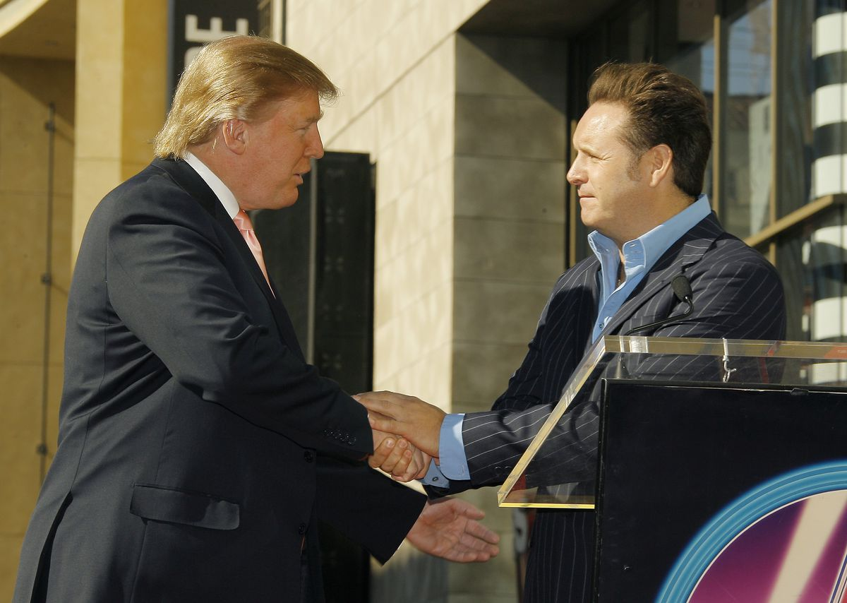 Donald Trump Honored With AStar On The Hollywood Walk Of Fame