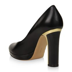 """Channel French elegance with a chunky, sturdy heel. $525 at <a href=""""http://www.ferragamo.com/webapp/wcs/stores/servlet/TopCategories_31150_35551#/product/27665/6148914691233393006/519446"""">Ferragamo</a>"""