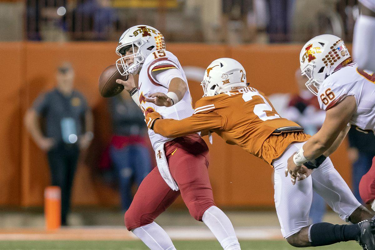NCAA Football: Iowa State at Texas