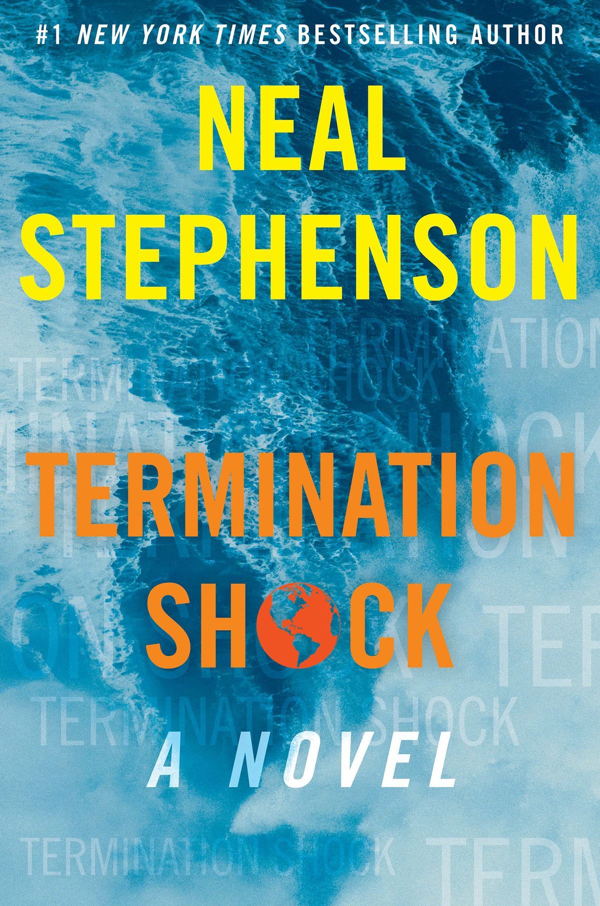Termination Shock by Neal Stephenson book cover