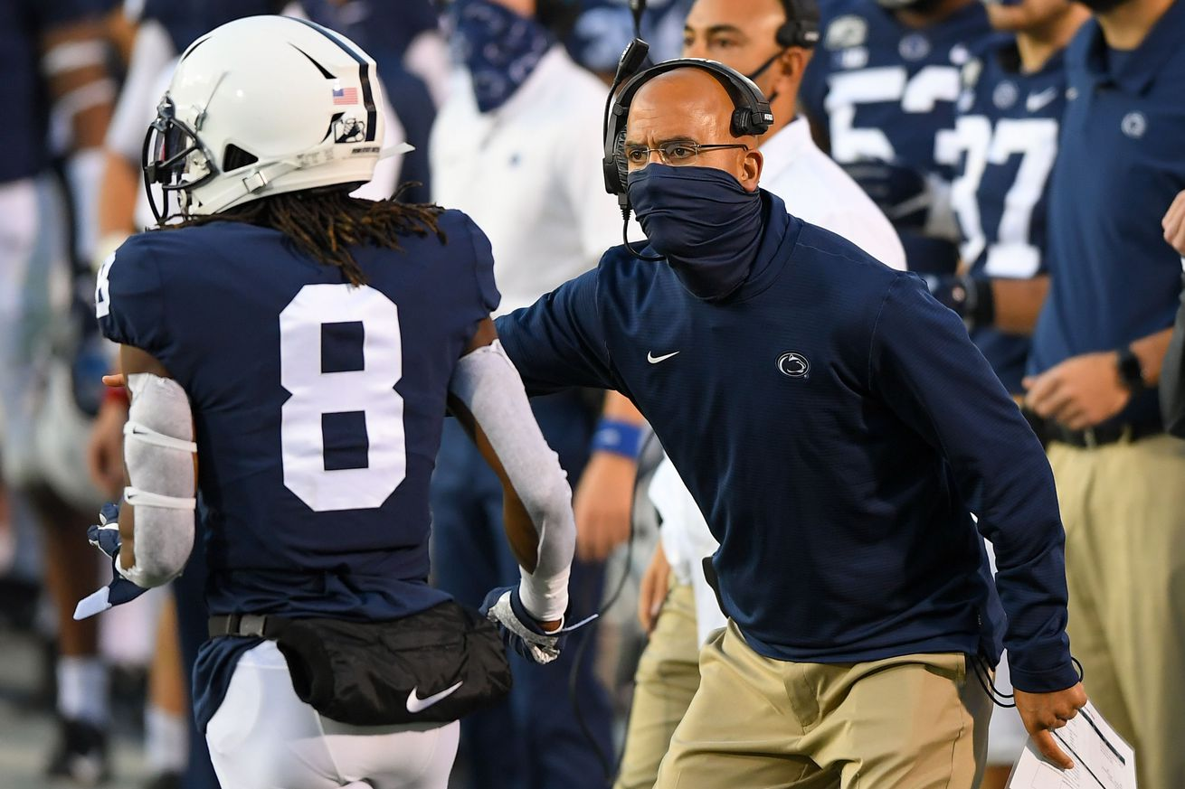 NCAA Football: Maryland at Penn State