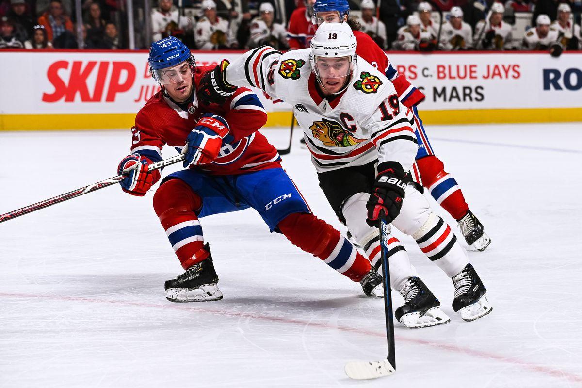 NHL: MAR 16 Blackhawks at Canadiens