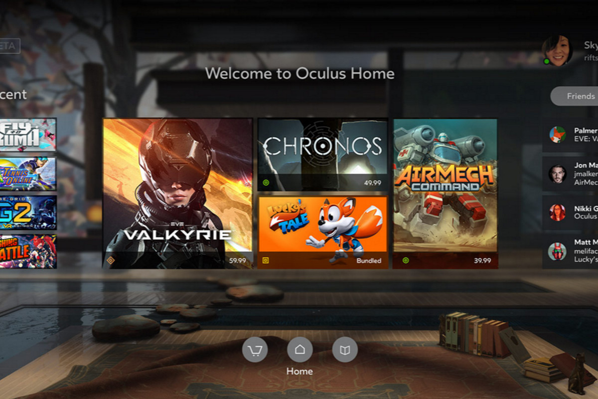 Oculus confirms devs free to sell Rift games on Steam, other