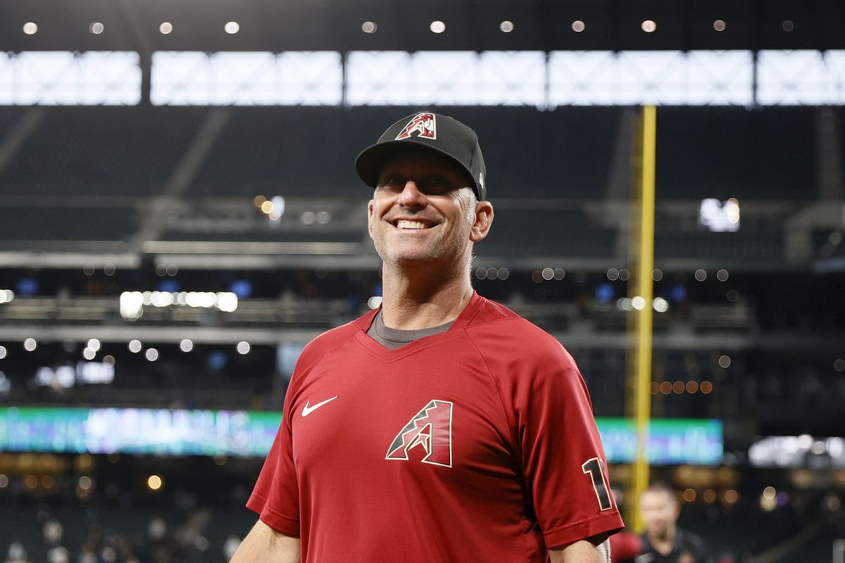 Torey Lovullo before the road series against the Mariners, which the Diamondbacks won.