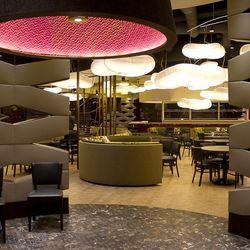 The entrance to Nobu Restaurant & Lounge.