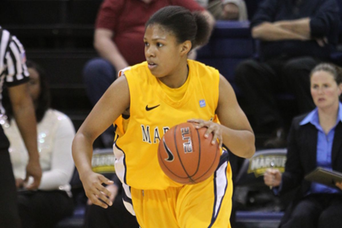 Arlesia Morse had a game high 16 points in the loss.